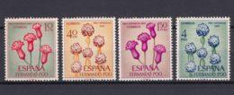 Fernando Po Flowers 1965 Mi#251-254 Mint Never Hinged - Fernando Po