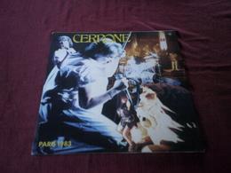 CERRONE  ° EN CONCERT PARIS  1983   DOUBLE VINYLE - Dance, Techno & House