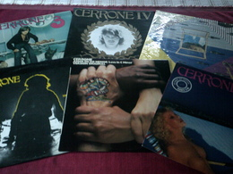CERRONE  ° COLLECTION DE 19 VINYLES - Collections Complètes