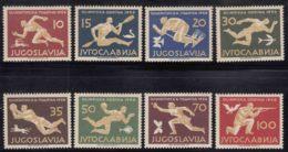 Yugoslavia Olympic Games In Melbourne 1956 Mi#804-811 Mint Hinged - Verano 1956: Melbourne