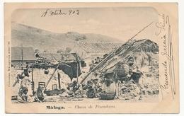 CPA - ESPAGNE - MALAGA - Choza De Pescadores - Málaga