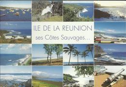 Ile De La Réunion Ses Côtes Sauvages..... Multivue - Photo A.M. Berger - La Réunion
