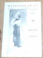 Weinstein Et Cie-Nouveautés En Fourrures 1911-1912 - Publicités