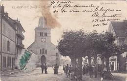 Clairvaux - L'Eglise - Animée - Clairvaux Les Lacs