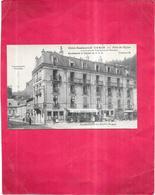 PLOMBIERES LES BAINS  - 88 - Hotel Restaurant CURIN Place De L'Eglise - BIS - - Plombieres Les Bains