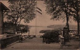 ! 1919 Alte Ansichtskarte  Nedlitz B. Potsdam, Restaurant Schweizerhaus, Automat - Potsdam
