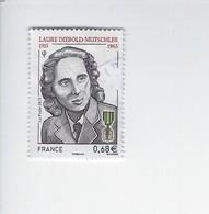 Personnalité Centenaire De La Naissance De Laure Diebold-Mutschler 4985 Oblitéré 2015 - Used Stamps