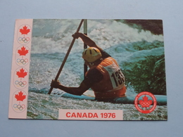 1976 > KAYAK / KAYAC > CANADA ( Benjamin ) Anno 1976 Trois Rivieres ( See / Voir > Photo ) ! - Jeux Olympiques