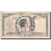 France, 5000 Francs, Victoire, 1938-10-13, TB, Fayette:45.1, KM:91 - 1871-1952 Frühe Francs Des 20. Jh.