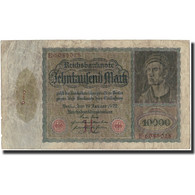 Billet, Allemagne, 10,000 Mark, 1922, KM:70, B+ - 10000 Mark
