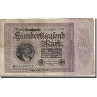 Billet, Allemagne, 100,000 Mark, 1923, 1923-02-01, KM:83c, TB - [ 3] 1918-1933 : República De Weimar