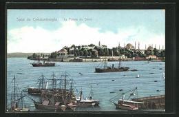AK Constantinople, La Pointe Du Sérail - Turchia