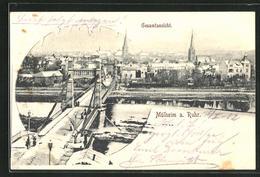 AK Mülheim A. Ruhr, Gesamtansicht - Muelheim A. D. Ruhr