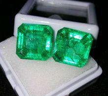EMERALD NATURAL UNTREATED, 8.92 CT + CERTIFICATE - Emerald