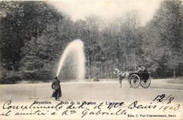 Bruxelles - Arroseur Au Bois De La Cambre - Old Professions