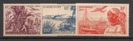 Guadeloupe - 1947 - Poste Aérienne PA N°Yv. 13 à 15 - Série Complète - Neuf Luxe ** / MNH / Postfrisch - Guadeloupe (1884-1947)