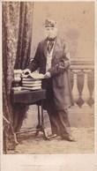 LIEGE Professeur Scientifique Historien ? Photo CDV Par KIRSCH Père Début Années 1860 Trace Collage Au Dos - Oud (voor 1900)