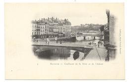 BAYONNE : CONFLUENT DE LA NIVE ET DE L'ADOUR - Bayonne