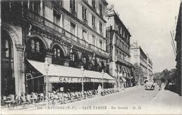 BAYONNE : CAFE FARNIE-RUE BERNEDE - Bayonne
