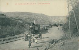 63 LE PUY DE DOME DIVERS / Le Chemin De Fer Du P. De D. Sortie De La Tranchee / - Altri Comuni