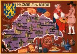 70 - LA HAUTE SAONE - TERRITOIRE DE BELFORT - DEPARTEMENT - MULTIVUES - Unclassified