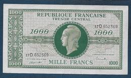 BILLET De  1000 F Marianne  - Série D - Tesoro
