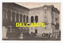 DD / TUNISIE / TUNIS / LE PALAIS DE JUSTICE / ANIMÉE / 1905 - Tunisie