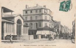 CARTE POSTALE    BAYEUX 14  Le Pont.Halle Au Poisson - Bayeux