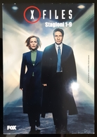 X Files Fiction Film Carte Postale - Posters On Cards