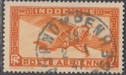Indochine Province Du Cambodge - Pnompenh Sur Poste Aériienne N° 12 (YT) N° 39 (AM). Oblitération De 1947. - Luchtpost