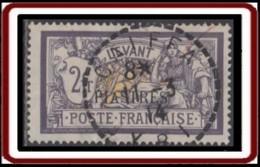 Levant Bureaux Français 1902-1922 - Caiffa / Syrie Sur N° 22 (YT) N° 22 (AM). Oblitération De 1914. - Used Stamps