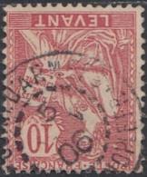Levant Bureaux Français 1902-1922 - Corr D'Armees / Constantinople Sur N° 14 (YT) N° 14 (AM). Oblitération De 1906. - Used Stamps