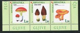 SALE  Croatia 1998 Mi 454-456 MNH  Mushrooms - Pilze