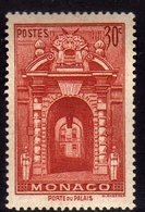 MONACO 1939 1946 1940 PALACE GATE CENT. 30c MNH - Unused Stamps