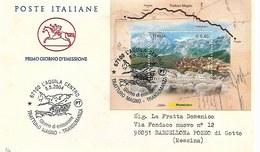 Fdc Cavallino : TRATTURO MAGNO (2004); Viaggiata  AS - F.D.C.
