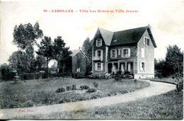 N°5407 T -cpa Carolles -villa Des Ormes Et Villa Jeanne- - Autres Communes