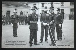 La Rehabilitation De Dreyfus, 4, Apres La Remise De Decorations, Le Commandant Dreyfus S'entretient Avec Le General Gill - Personnages