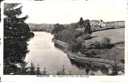 Robertville - Un Aspect Du Lac Du Barrage (Edit. Ernest Maus, Restaurant Friture Pâtisserie) - Waimes - Weismes