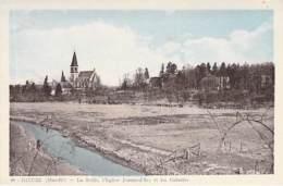 Dieuze (Moselle) - La Seille,l'Eglise Jeanne-d'Arc Et Les Colonies - Dieuze