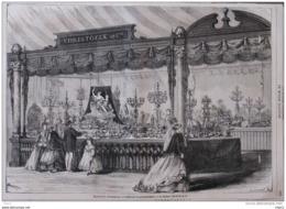Exposition Universelle 1867 - Orfévrerie Et Galvanoplastie - La Maison Christofle Et Ce. - Page Original 1867 - Documents Historiques