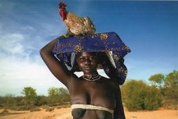 Photo Afrique Femme Aux Seins Nus Couleur 15x10 - Afrique Du Sud, Est, Ouest