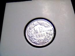 KM 23 1/2 Franc 1963 - Schweiz