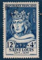 FRO 1954 Série Des Célébrités Du XIIIe Au XXème Siècle : Saint-Louis  N°YT 989    (Ex1) - Usati