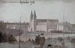 Abbaye De Maredsous  (animée, Légèrement Colorisée) - Anhée