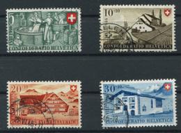 Schweiz-Switzerland-Suisse: Pro Patria Mi 471-474 1946 Gestempelt / Used / Oblitéré - Pro Patria