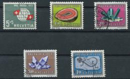 Schweiz-Switzerland-Suisse: Pro Patria Mi 674-678 1959 Gestempelt / Used / Oblitéré - Pro Patria