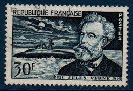 """FRO 1955  Jules Verne Et Le """"Nautilus""""   N°YT 1026  (ex2) - France"""