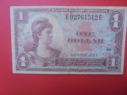 U.S.A 1$ 1954 (MILITAIRE)CIRCULER (B.11) - 1954-1958 - Series 521