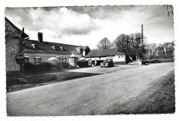 """80 BOIMONT  ( Somme )     PINCHEVALISE - Auberge De La Hutte .  """" N & B Crantée """" - Autres Communes"""