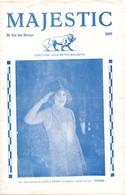 Pub Reclame - Ciné Cinema Bioscoop Film - Programma Programme Majestic Gent - Xenia Desni Dans Titine - 1929 - Publicité Cinématographique